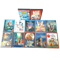 Disney Animated Movie Collection Blu-ray DVD Beauty Beast Tangled EUC Lot Of 12
