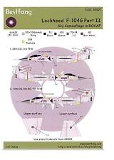 Bestfong Decals 1/32 LOCKHEED F-104G STARFIGHTER Sky Camouflage ROC Part 2