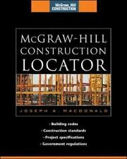 McGraw-Hill Construction Locator : Building Codes, Construction Standards,...