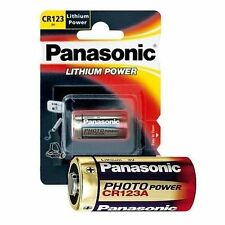 12  Batterie PANASONIC CR123 DL123 CR17345  LITIO 3V - sped. corriere espresso