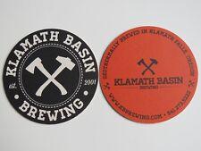 Beer Coaster ~ KLAMATH BSIN Brewing Co ~ Klamath Falls, OREGON ~ Geothermal Brew