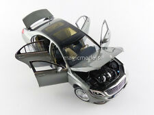 Norev 2013 Mercedes Benz S-Class Palladium Silver in 1/18 Scale. New! In Stock!