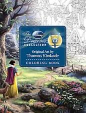 THE DISNEY DREAMS COLLECTION ORIGINAL ART BY THOMAS KINKADE COLORING BOOK - KINK