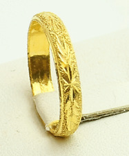 22k gold band ring from Thailand #41