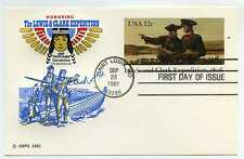 UX91 Lewis and Clark Expedition, 1806, Farnam, HF, FDC