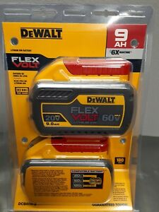 Dewalt DCB609-2 Flexvolt 60v 9ah Batteries - New Sealed