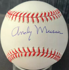 RARE Andy Musser (dec.2012) PSA/DNA Phillies Autographed Baseball Broadcaster