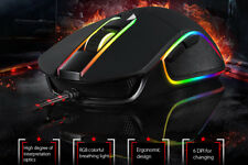 Motospeed V30 Professional Wired Optical Mice USB Gaming Mouse +RGB Backlit LED