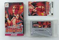 CONTRA SPRITS  with BOX  Nintendo Super Famicom japanese SFC  Japan USED