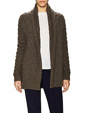 V514 NWT VINCE TEXTURE OPEN CAR COAT WOMEN CARDIGAN SWEATER SIZE XS in DB $475