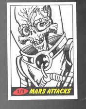 Mars Attacks Heritage 2012 sketch card Cesar Feliciano 1/1