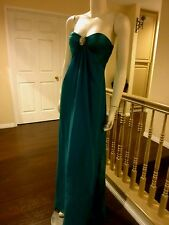 LOVELY ROMANESQUE STYLE STRAPLESS GOWN-DEPUTANT-PROM BRIDESMAID OR PAGEANT DRESS