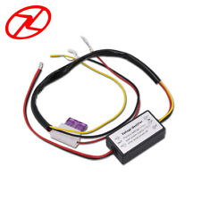 DRL Controller Auto Car LED Daytime Running Light Relay Harness Dimmer On/Off--