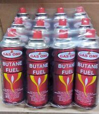 Gasone 4 Can 8 Oz Portable Butane Gas Fuel Cartridge Cooking Camping Picnic Add