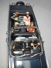 6  FIGURINES 1/43  SET 345  JFK  KENNEDY  VROOM  NON  PEINT  FOR  NOREV