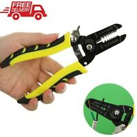 New Automatic Cable Wire Stripper Crimper Crimping Tool Adjustable Plier Cutter