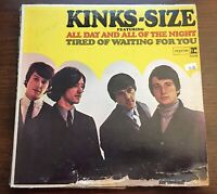 Kinks Kinks-Size Reprise R 6158 Mono Vinyl Record LP 1965 Pye USA Warner Bros
