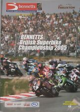 2005 British Superbike Championship Official Programme