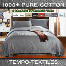 Patternless Bedroom 100% Cotton Quilt Covers