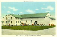 Fort Benjamin Harrison, IN The Red Cross Building, Billings Hospital