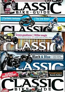 Various Issues of CLASSIC BIKE GUIDE, CLASSIC MOTORCYCLE & REAL CLASSICS