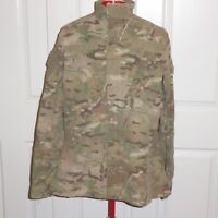 OCP Multicam Jacket Army Combat Uniform Coat Insect Flame Resistant Med-Long