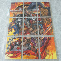 rare FLEER cards promo 1995 YOUNGBLOOD comic insert - 9 PUZZLE ES CARD -