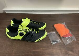 Giro Sentrie Techlace Carbon Road Shoes Size Men's EU 44 US 10.5 New