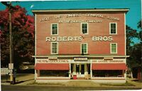 Vintage Postcard - Roberts Bros. General Store Ausable Valley New York NY#4933