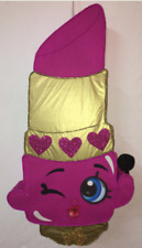 Piñata shopkins lipstick, pinata lipstick shopkins, piñata infantil. Decoaracion