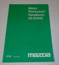 Manuel D'Atelier Mazda Moteur Z5-DOHC, Support 08/1994
