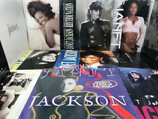 Janet Jackson Vinyl Record Collection - Rhythm Nation - Control - Nasty - If