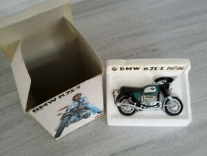 Vintage 70s  Polistil BMW R75/5 1:15 Motorbike Rare Made In Italy