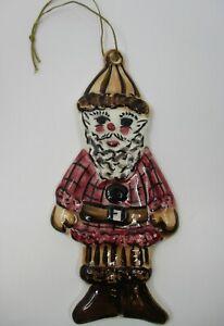 "GAIL PITTMAN RED ELF CHRISTMAS ORNAMENT - 6""  -1998  22B"