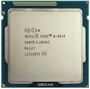 CPU Intel Core i5-3470 3,2GHz - 3,60GHz Turbo 3.Gen Sockel 1155 100% OK TOP