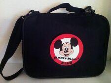 TRADING PIN BOOK BAG DISNEY MICKEY MOUSE CLUB LOGO BAG LARGE DISPLAY CASE