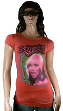 WoW AMPLIFIED BLONDIE Strass Debbie Harry Rock Star ViP Tunika T-Shirt g.XS