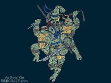Teenage Mutant Ninja Turtles How To Be A Green TMNT Comic NEW TEEFURY T-SHIRT!!