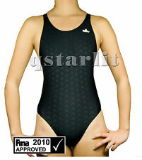 Women Female Racing Competition Fast Skin Swim Suit Swimwear Size 34 / XXL