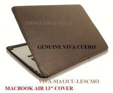 "GENUINE VIVA CUERO leather case for Macbook Air 13"",classic mocha,MA13CU-LESCMO"