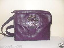 GUESS julieanne violet crossbody handbag purse new nwt