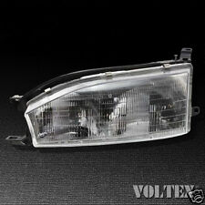 1992-1994 Toyota Camry Headlight Lamp Clear lens Halogen Driver Left Side