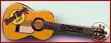 Hard Rock Cafe MADRID 1990s Yellow Flamenco Acoustic Guitar - HRC Catalog #5132