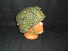 Сover for Russian helmet 6б47 for fastenings,  color: digital flora