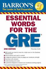 Essential Words for the GRE (Barrons GRE) by Philip Geer