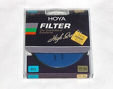 62mm Hoya 80A Blue Glass Lens filter 80 A Japan Coated 62 mm Circular Camera