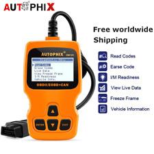 Autophix OM123 Car OBD2 Code Reader Check Engine Light Diagnostic Scanner Tools