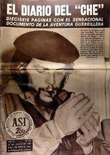 ERNESTO CHE GUEVARA -The Journal of Che - Asi # 272 magazine Argentina July 1968