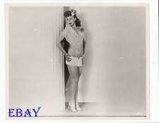 Busty leggy stripper babe VINTAGE Photo Hollywood Burlesque