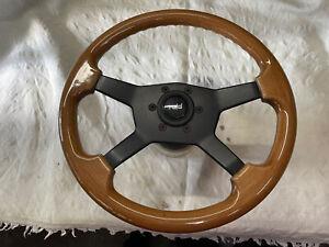 Raid 4D Holzlenkrad VW Golf GTI VR6 Cabrio Scirocco Jetta Passat Seat